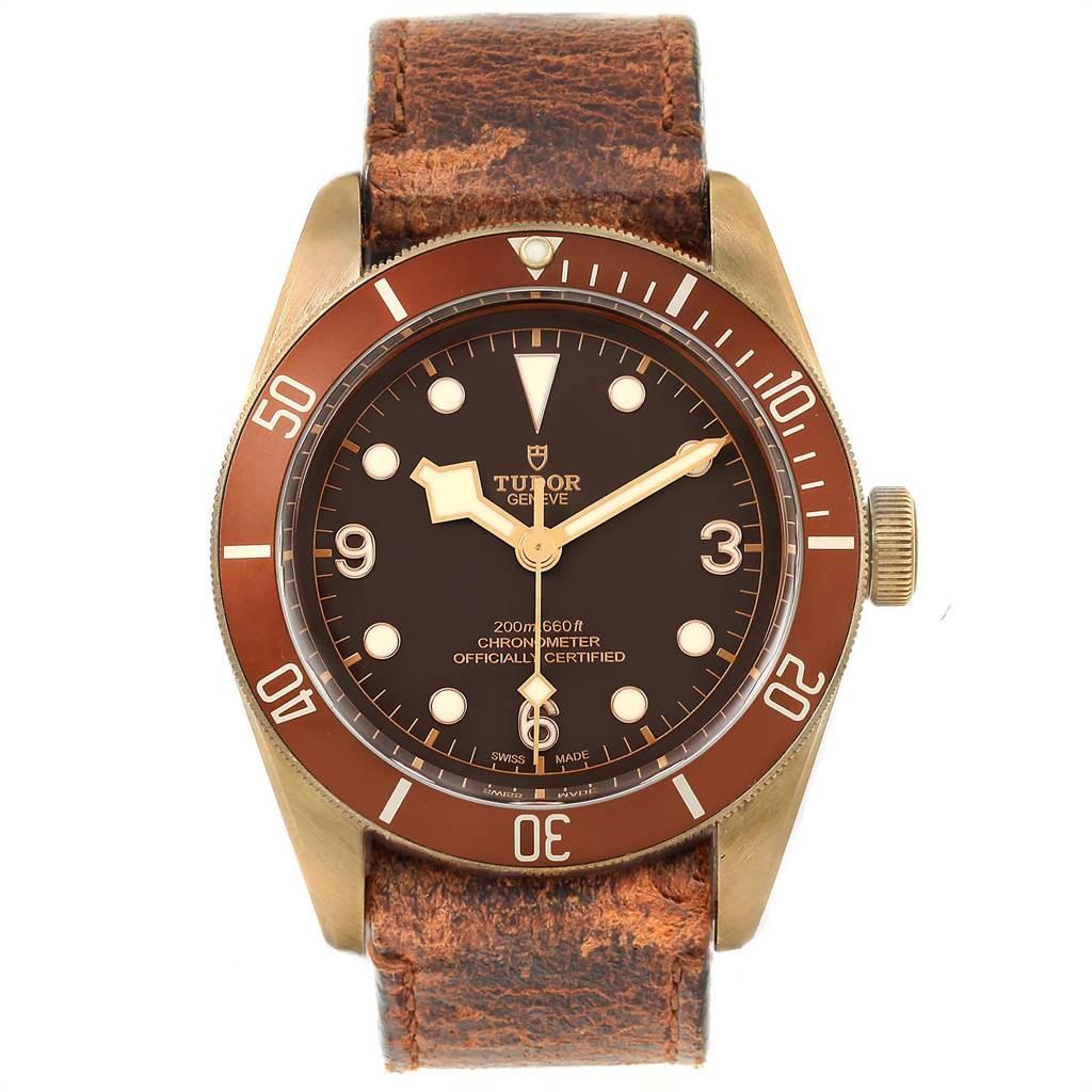 Tudor Heritage Black Bay 43 Bronze Dial Mens Watch 79250 Box Card SwissWatchExpo