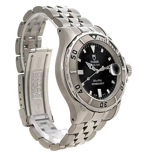 Tudor Prince Date Hydronaut Mens Ss Watch 89190 P SwissWatchExpo