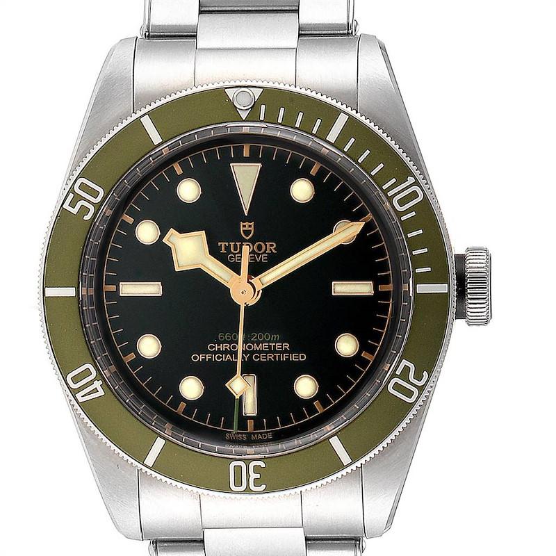 Tudor Heritage Black Bay Harrods Special Edition Mens Watch 79230G Unworn SwissWatchExpo