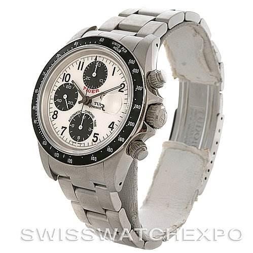Tudor  Tiger Woods Chronograph steel watch 79260 SwissWatchExpo