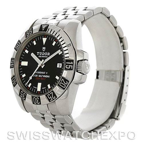 Rolex Tudor Sport Mens Hydronaut II Steel Watch 20030 Watch SwissWatchExpo