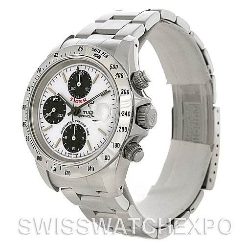 Tudor Tiger Woods Chronograph Steel Mens Watch 79280P SwissWatchExpo