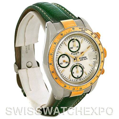 Tudor Tiger Woods Chronograph Steel and 18 Yellow gold 79263 Watch SwissWatchExpo