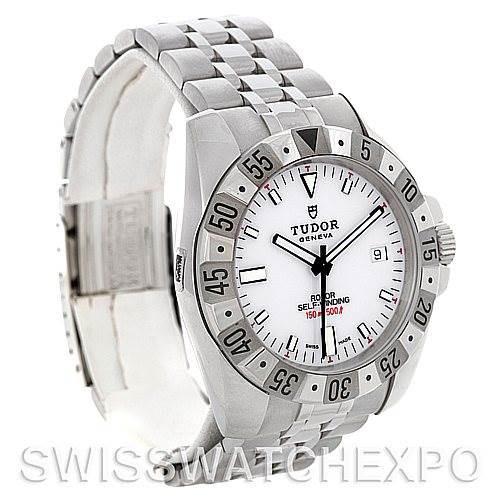 Rolex Tudor Sport Mens Hydronaut II Steel Watch 20020 SwissWatchExpo