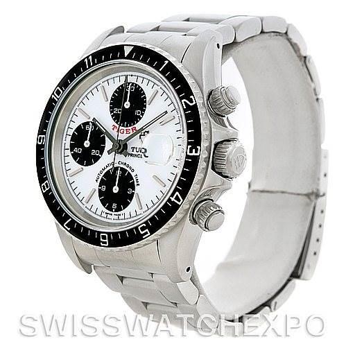 Tudor Tiger Woods Chronograph Steel Mens Watch 79280 NOS SwissWatchExpo