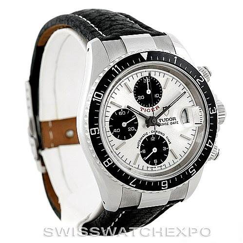 Tudor Tiger Prince Date Chronograph Steel Watch 79270 SwissWatchExpo