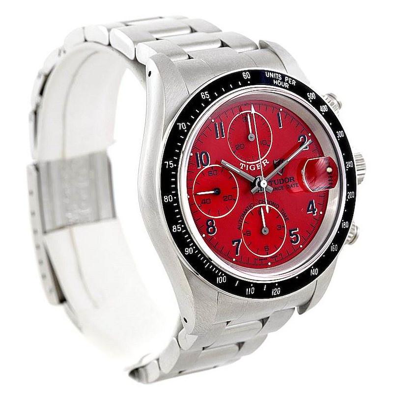 Tudor Tiger Prince Date Chronograph Steel Watch 79260 SwissWatchExpo