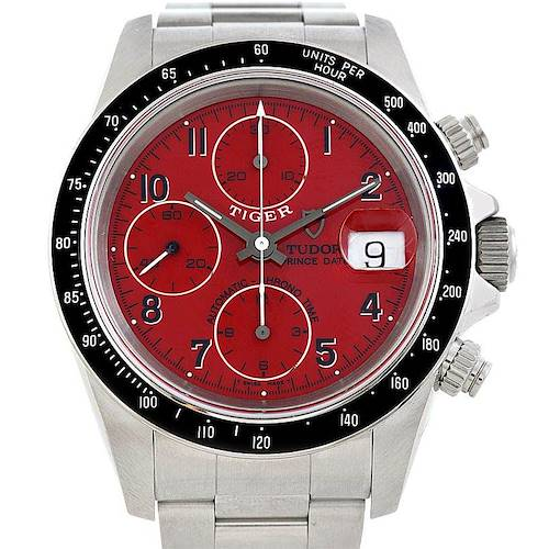 Photo of Tudor Tiger Prince Date Chronograph Steel Watch 79260