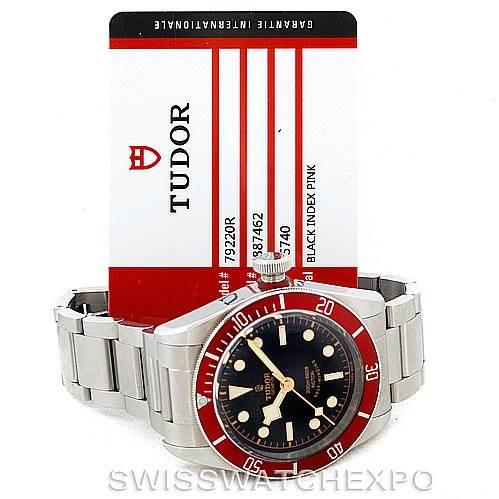 7109 Tudor Heritage Black Bay Steel Watch 79220R SwissWatchExpo