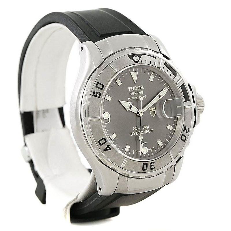 Tudor Prince Date Hydronaut Steel Mens Watch 89190 SwissWatchExpo