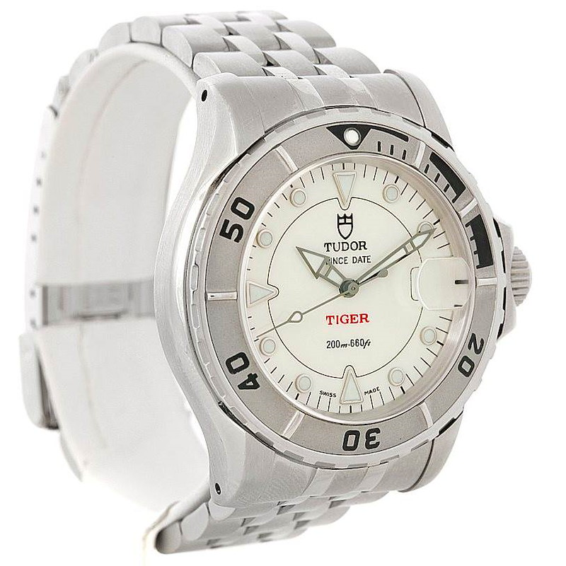 Tudor Prince Date Hydronaut Tiger Watch 89190 SwissWatchExpo