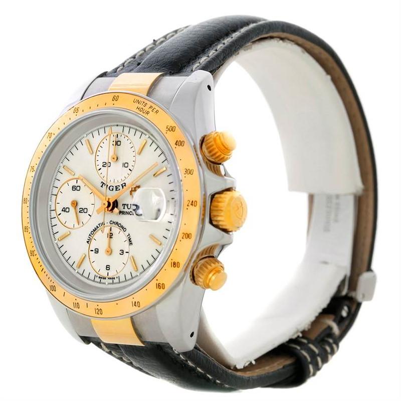 Tudor Tiger Woods Chronograph Steel and 18 Yellow gold 79263 SwissWatchExpo