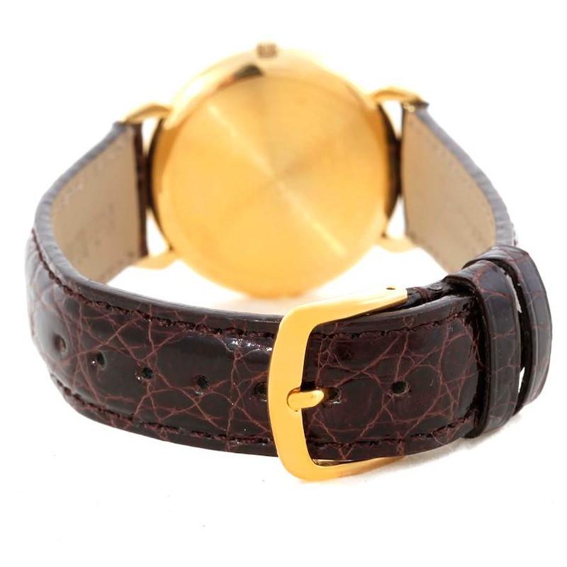 Baume Mercier Classima Quartz 18K Yellow Gold Watch 15163 SwissWatchExpo