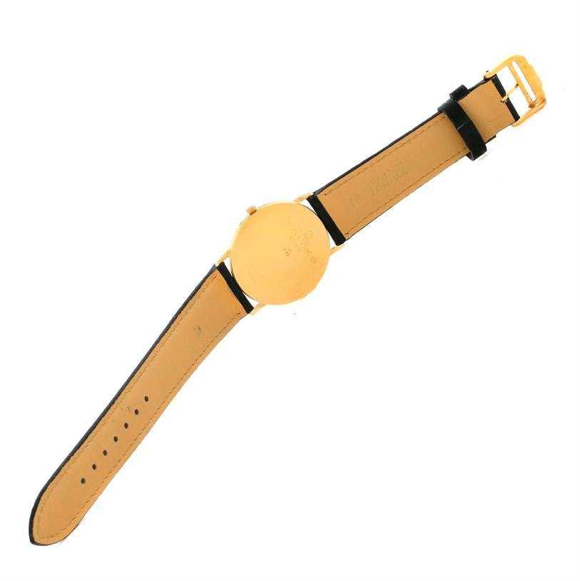10558 Baume Mercier Classima Ultra Thin Yellow Gold Quartz Watch MV045094 SwissWatchExpo