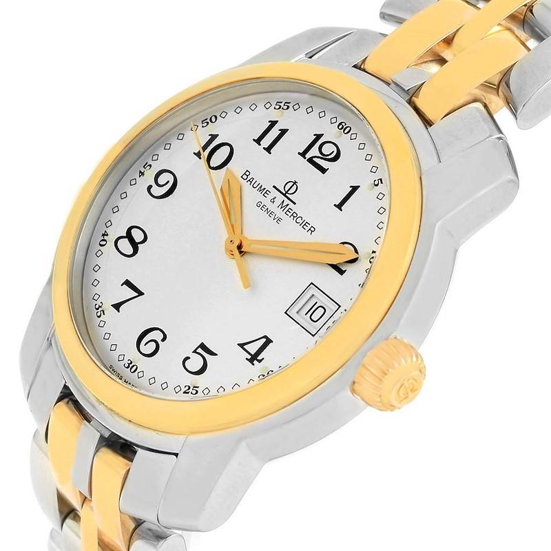 Baume Mercier Capeland Steel 18K Yellow Gold Mens Watch MV045215 SwissWatchExpo