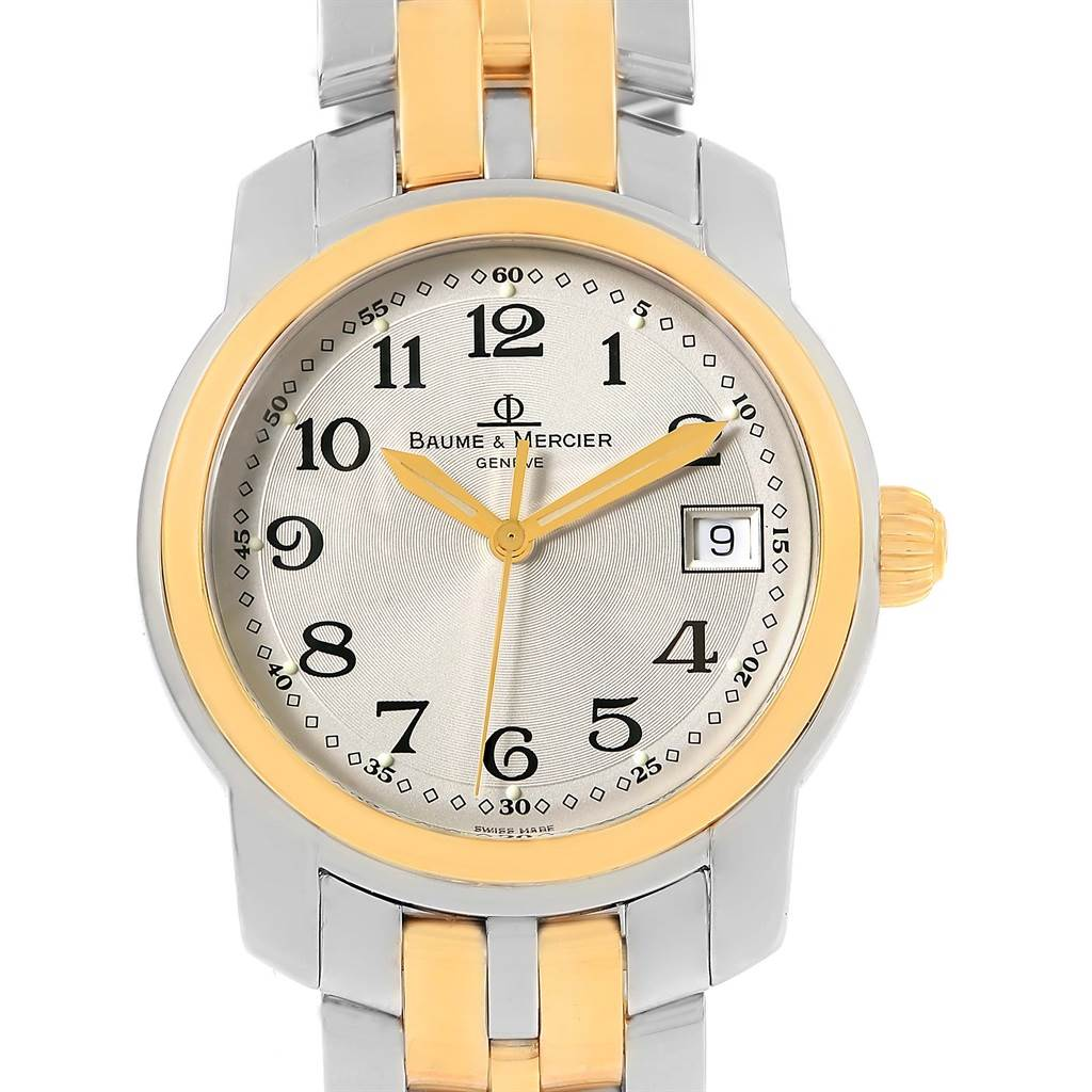 Photo of Baume Mercier Capeland Steel 18K Yellow Gold Mens Watch MV045215