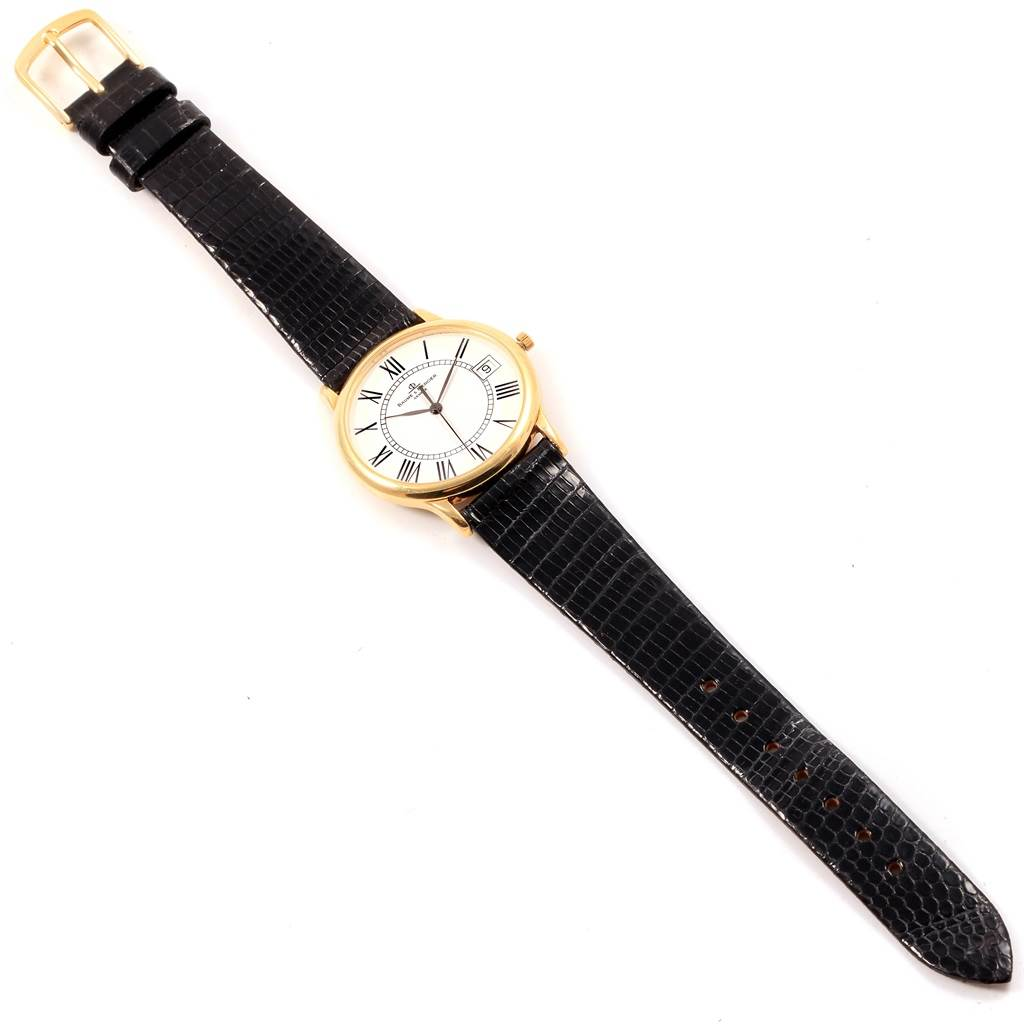 Baume Mercier Classima Ultra Thin 18K Yellow Gold Quartz Watch MV045077 SwissWatchExpo