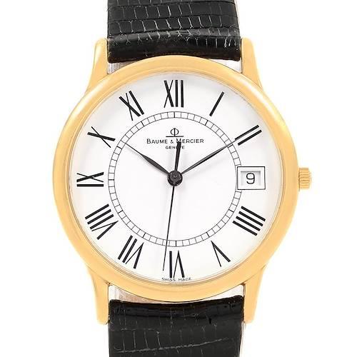 Photo of Baume Mercier Classima Ultra Thin 18K Yellow Gold Quartz Watch MV045077