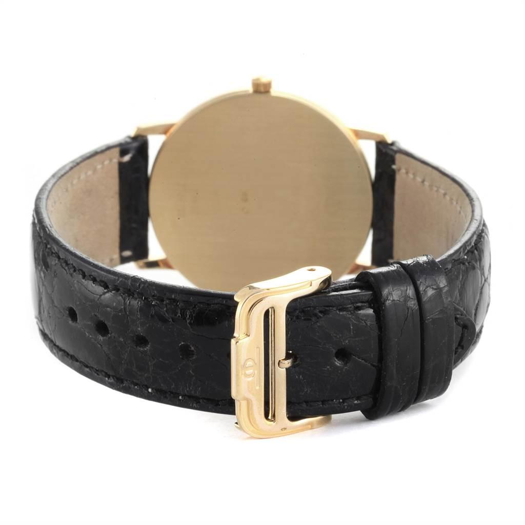 22285 Baume Mercier Classima Ultra Thin 18K Yellow Gold Quartz Watch 95612 SwissWatchExpo