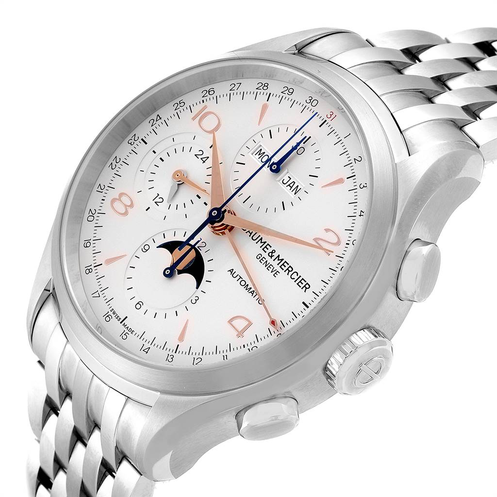 Baume Mercier Classima Executive Clifton Core Chrono Watch 10279 Unworn SwissWatchExpo