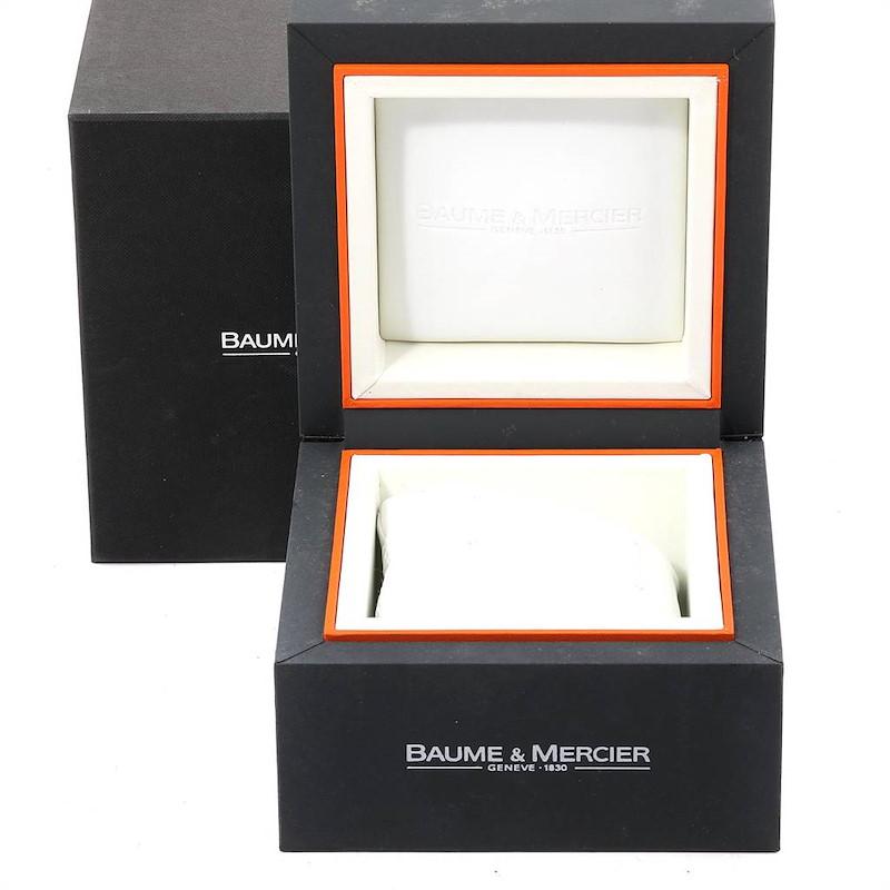Baume Mercier Classima Executive Clifton Core Chrono Watch 10279 Unworn SwissWatchExpo