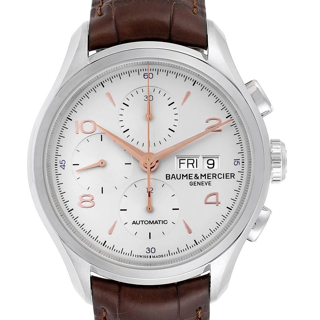 25046 Baume Mercier Classima Executive Clifton Core Chrono Watch 10129 Unworn SwissWatchExpo