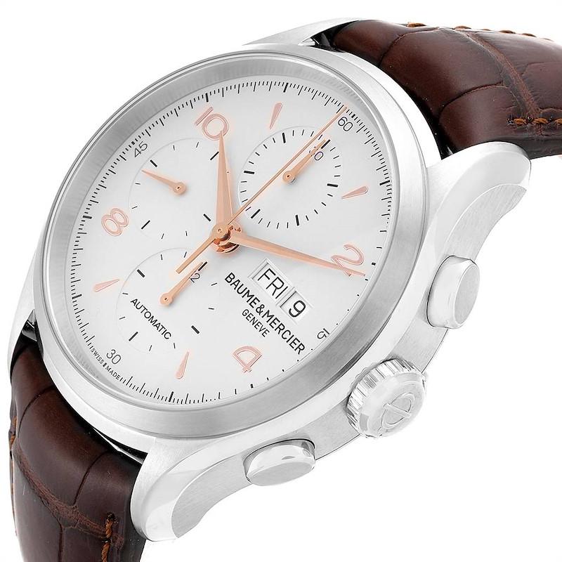 Baume Mercier Classima Executive Clifton Core Chrono Watch 10129 Unworn SwissWatchExpo