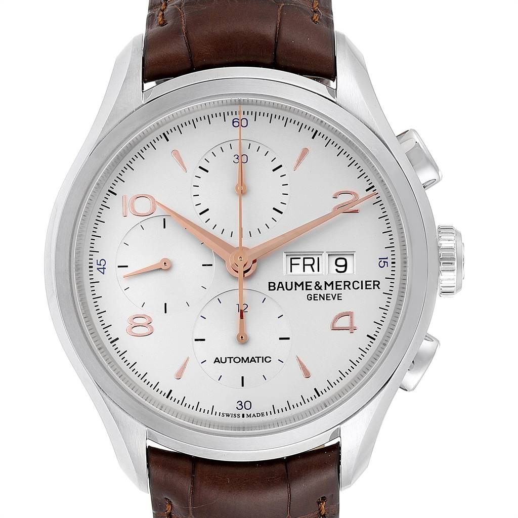 Baume Mercier Classima Executive Clifton Core Chrono Watch 10129 Unworn SwissWatchExpo