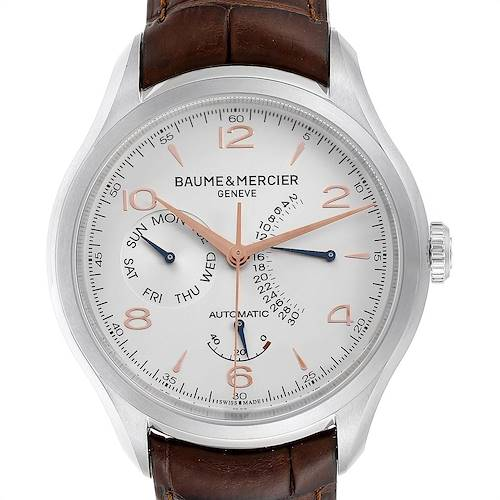 Baume Mercier Classima Executive Clifton Steel Mens Watch 10149 Unworn
