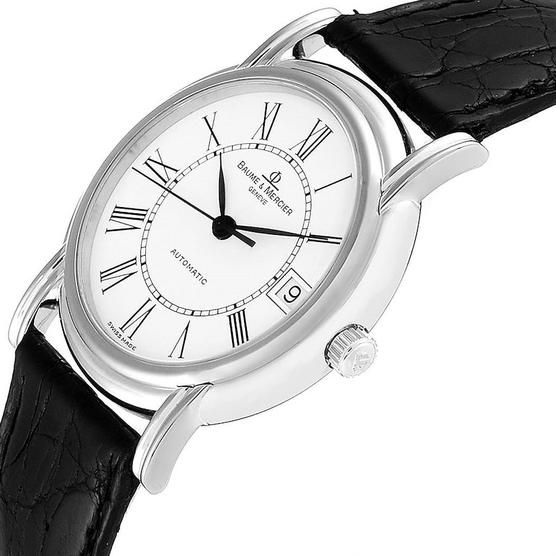 Baume Mercier Classima White Gold Mens Watch MV045077 Box Papers SwissWatchExpo