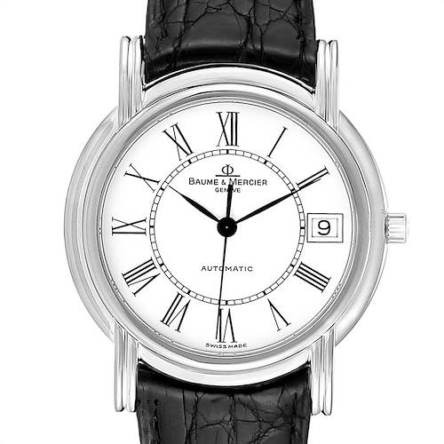 Photo of Baume Mercier Classima White Gold Mens Watch MV045077 Box Papers