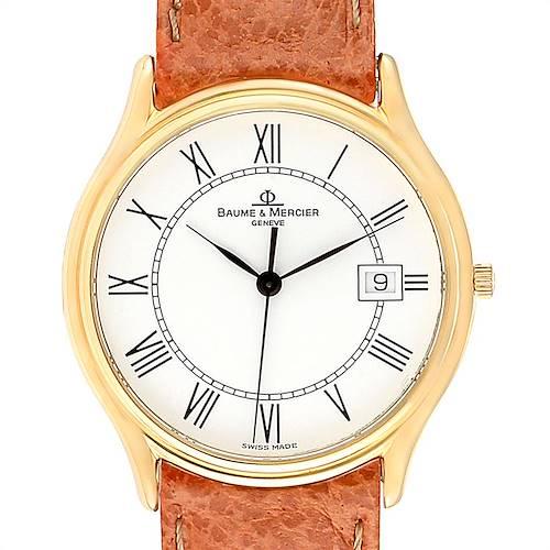 Photo of Baume Mercier Classima Ultra Thin 18K Yellow Gold Quartz Watch MV045236
