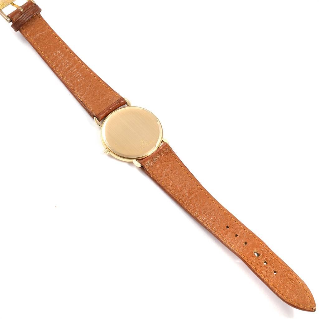 Baume Mercier Classima Ultra Thin Yellow Gold Quartz Mens Watch 15606 SwissWatchExpo