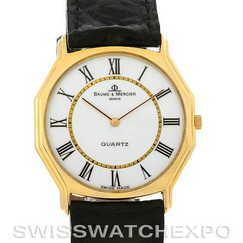 Photo of Vintage Baume Mercier 14k Yellow Gold Quartz Watch