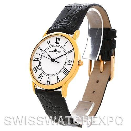 4897 Baume Mercier Men's 18K Classima 1830 Quartz Watch MV045077 SwissWatchExpo