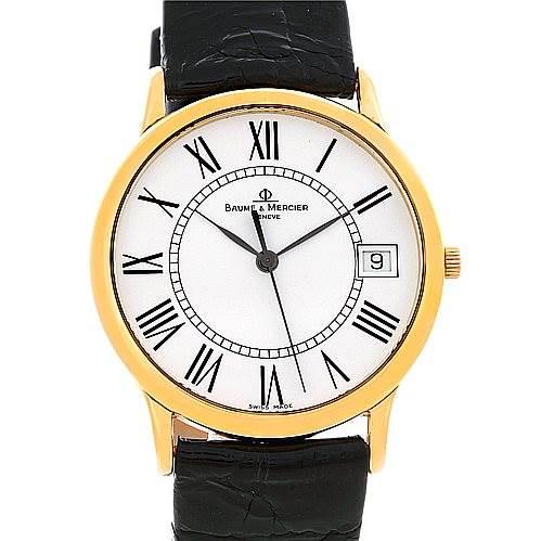 Baume Mercier Men's 18K Classima 1830 Quartz Watch MV045077 SwissWatchExpo