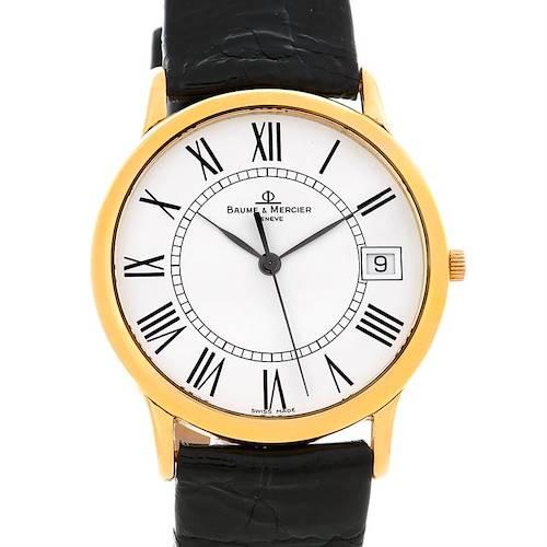 Photo of Baume Mercier Men's 18K Classima 1830 Quartz Watch MV045077
