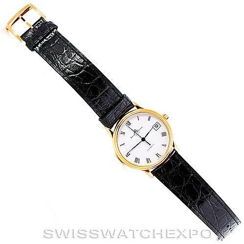 Baume Mercier Classima Mens 18K 1830 Watch MV045075 Unworn SwissWatchExpo