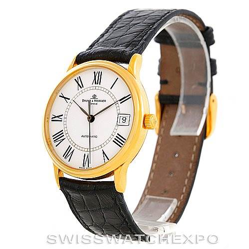 6942 Baume Mercier Classima 18K Yellow Gold Watch MV045075 SwissWatchExpo