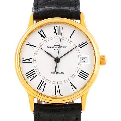 Photo of Baume Mercier Classima 18K Yellow Gold Watch MV045075