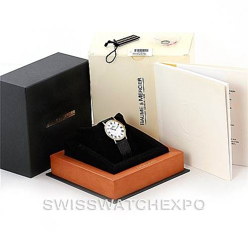 Baume Mercier Men's 18K Classima 1830 Quartz Watch MV045088 SwissWatchExpo