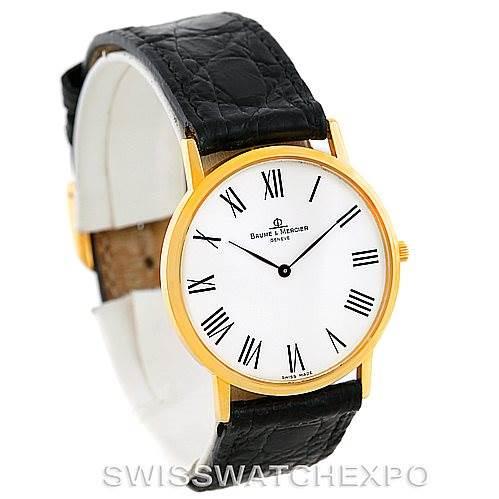 Baume Mercier Men's 18K Classima 1830 Quartz Watch MV045088 SwissWatchExpo