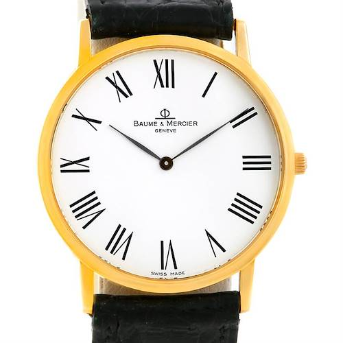 Photo of Baume Mercier Men's 18K Classima 1830 Quartz Watch MV045088