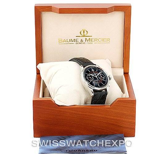 7102 Baume Mercier Classima 8621 Black Dial Mens Watch SwissWatchExpo