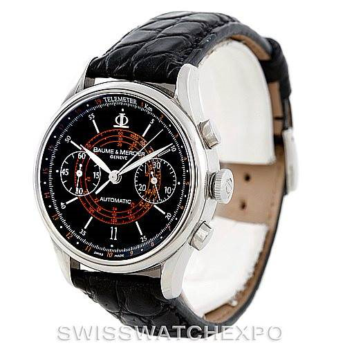 Baume Mercier Classima 8621 Black Dial Mens Watch SwissWatchExpo
