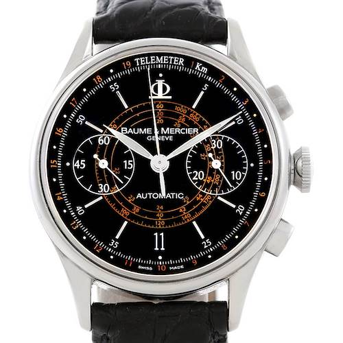 Photo of Baume Mercier Classima 8621 Black Dial Mens Watch