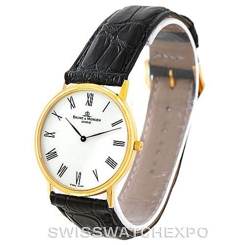 7364 Baume Mercier Men's 18K Classima 1830 Quartz Watch MV045088 SwissWatchExpo