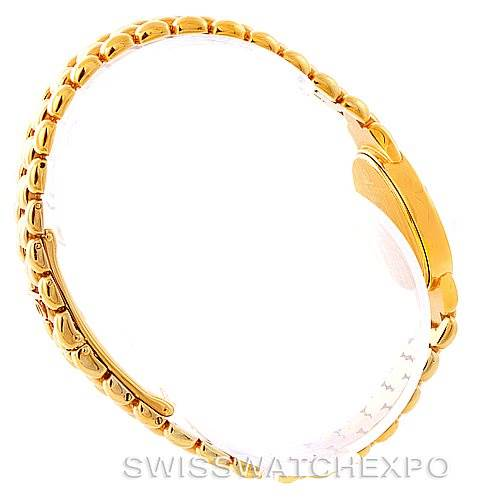 7849 Baume Mercier 14K Yellow Gold Diamond Ladies Watch MX000NM4 SwissWatchExpo