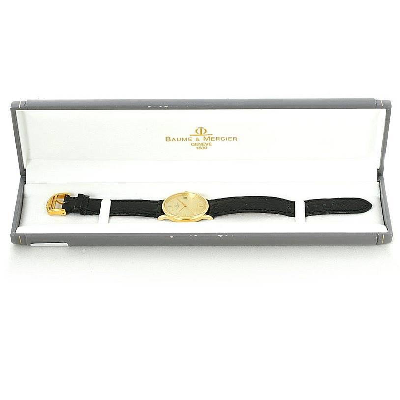 7866 Baume Mercier Classima 1830 18K Yellow Gold Watch MV045077 6149 SwissWatchExpo