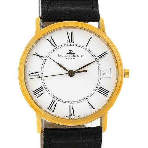 Photo of Baume Mercier Classima 14K Yellow Gold Mens Watch 95712